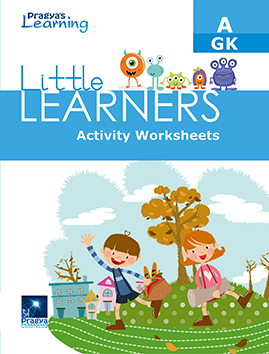 Little learners worksheet G.k - A